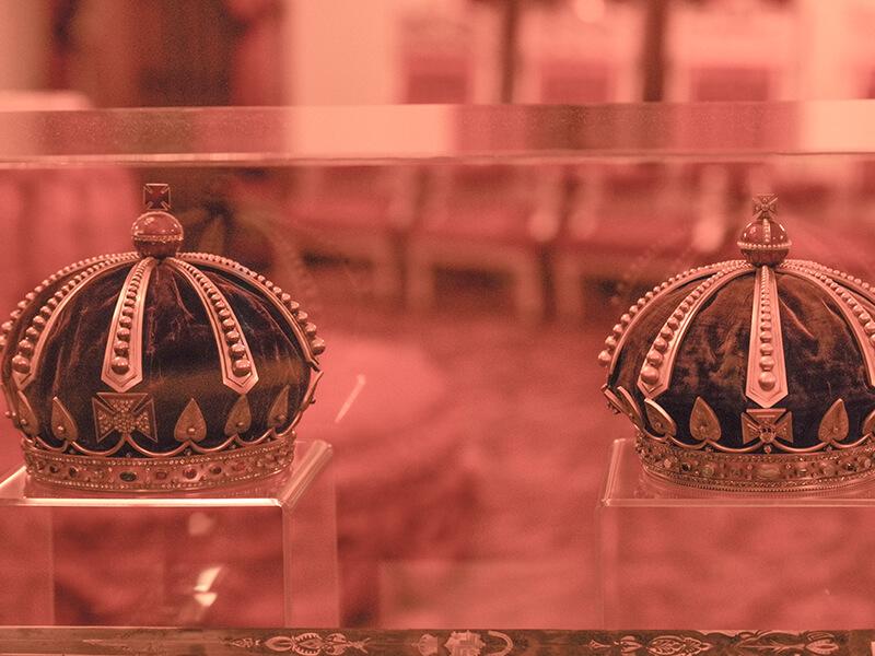 Iolani Palace Crowns