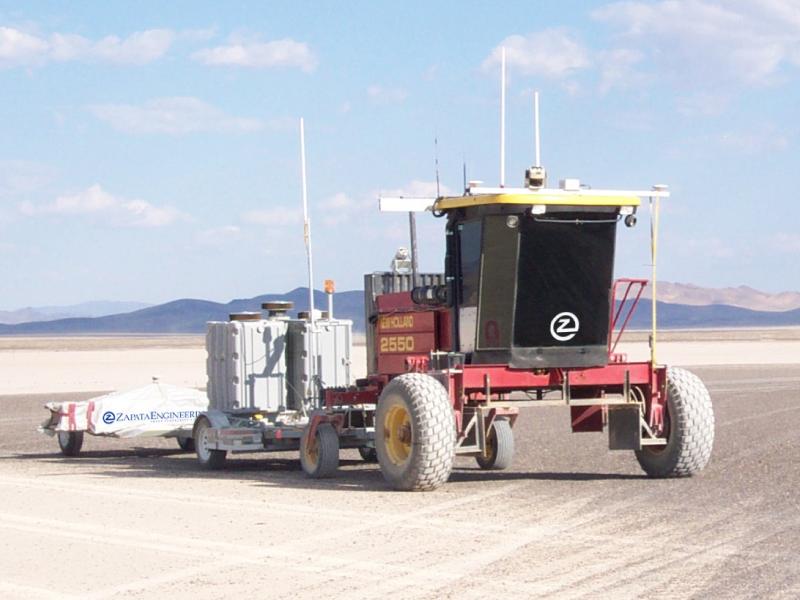 Robotics Test Range in Nevada