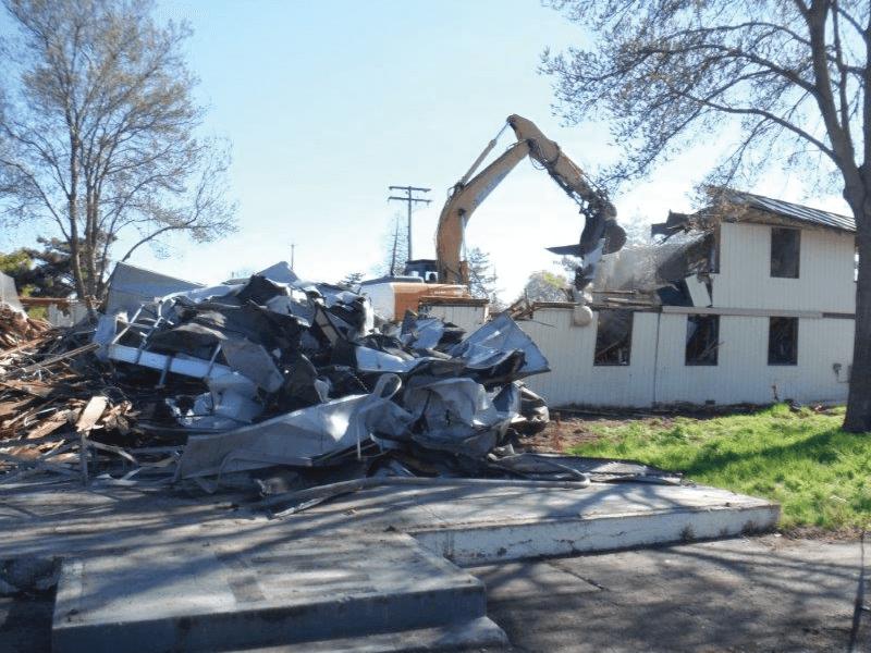 Demolition of Multi-Story Building