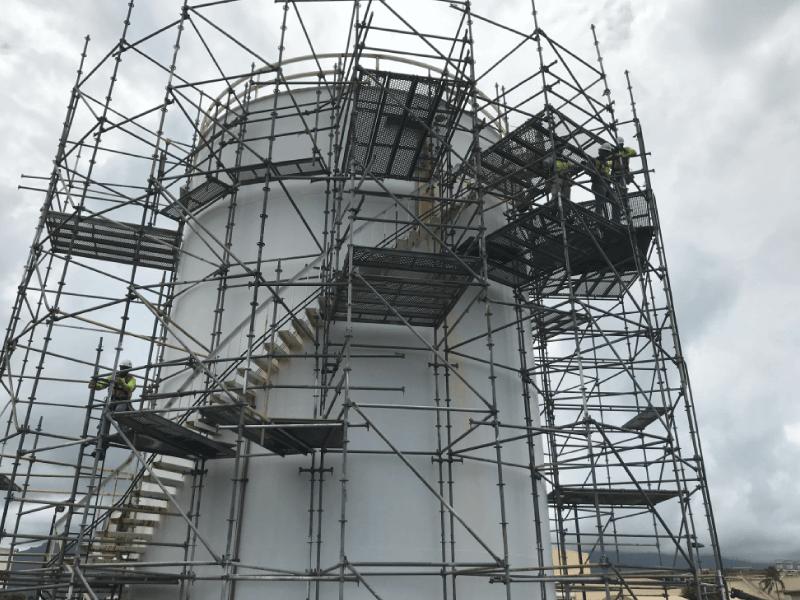 Repairing Fuel Storage Tanks